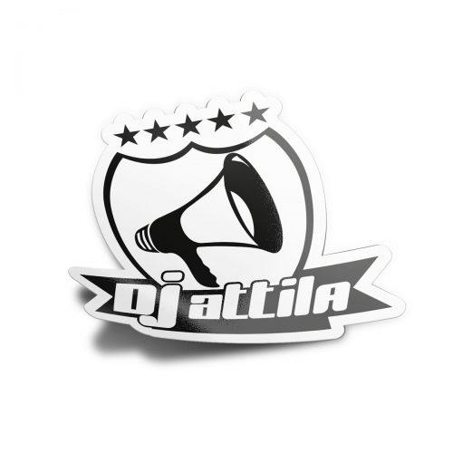 aufkleber dj attila logo