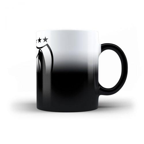 Tasse DJ Attila Logo schwarz-weiß