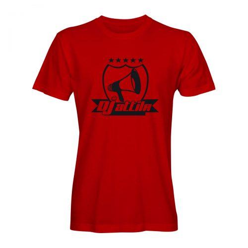 DJ Attila T-Shirt logo rot