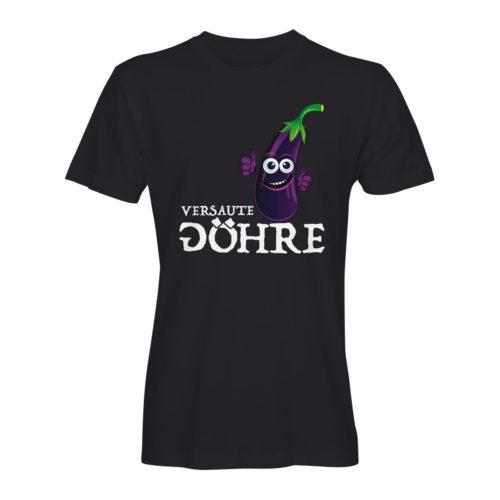 T-Shirt Herren DJ Attila Aubergine FC schwarz