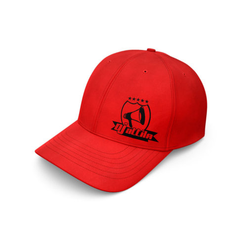 baseball cap dj attila logo rot