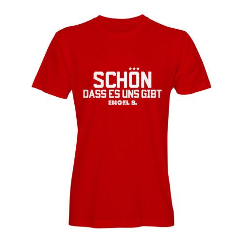 T-Shirt Engel B Schön dass es uns gibt rot