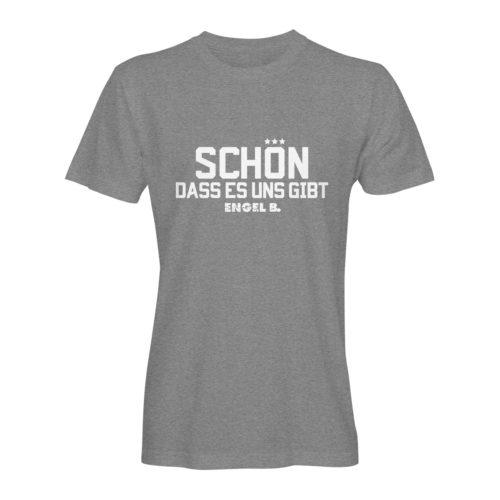 T-Shirt Engel B Schön dass es uns gibt grau