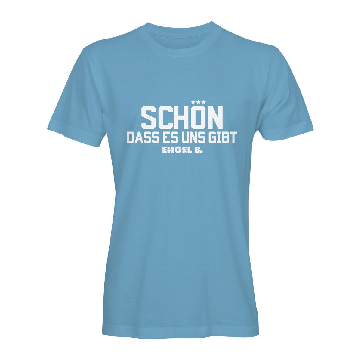 T-Shirt Engel B Schön dass es uns gibt hellblau