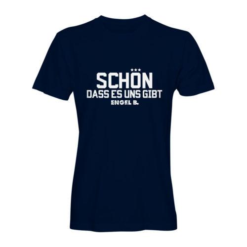 T-Shirt Engel B Schön dass es uns gibt navy