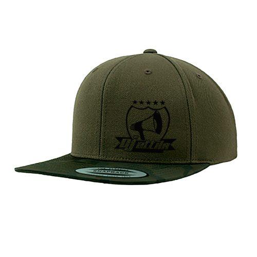 Cap Snapback DJ Attila Logo Premium Camouflage